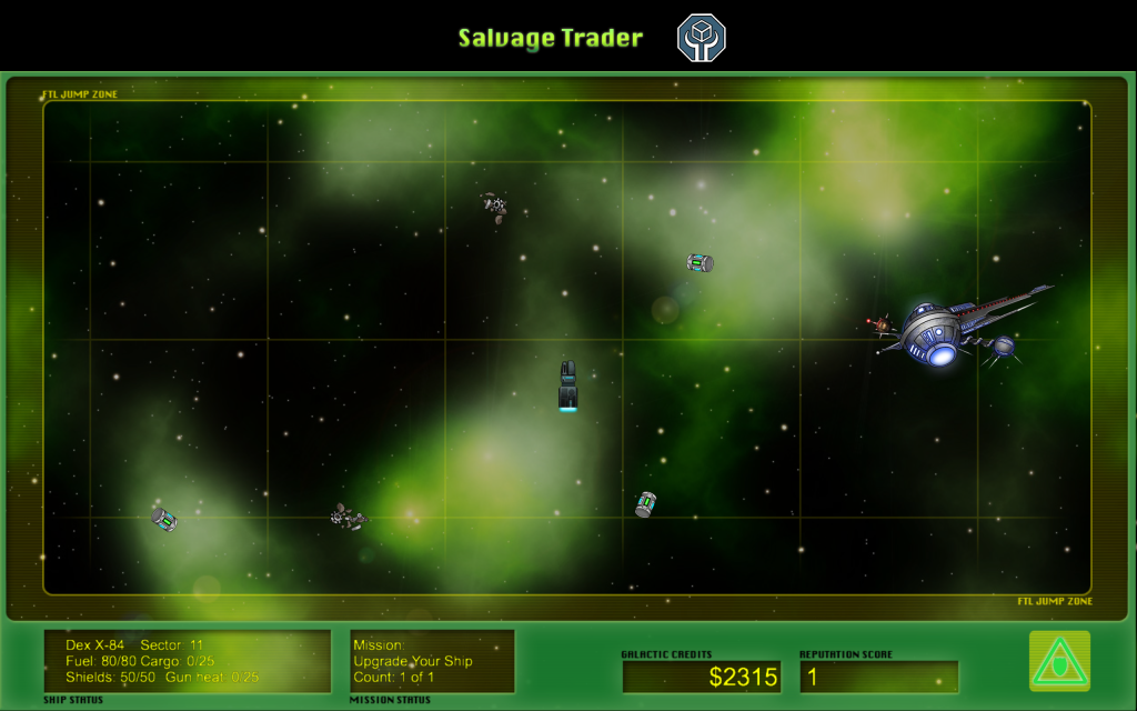 Screen Shot from Salvage Trader
